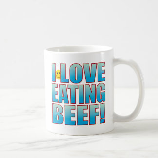 Eat Beef Life B Coffee Mug