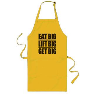 Eat Big, Lift Big, Get Big - Bodybuilding Apron