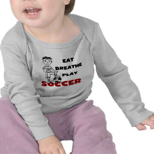 Eat Breathe Play Soccer T shirts and Gifts