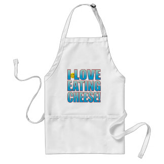 Eat Cheese Life B Standard Apron