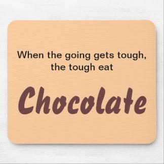Eat Chocolate Mousepad