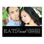 Eat, Drink and be Married | Save the Date