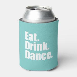 Eat. Drink. Dance. | Wedding Can Cooler