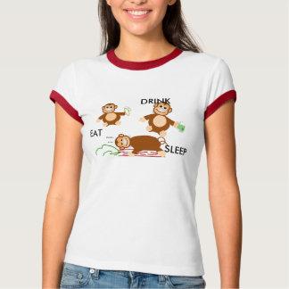 Eat, Drink, Sleep T-Shirt