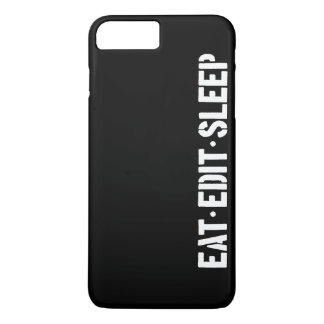 Eat Edit Sleep iPhone 7 Plus Case
