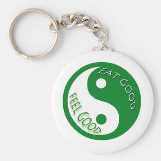 Eat Good Feel Diet and Weight Loss Key Chains