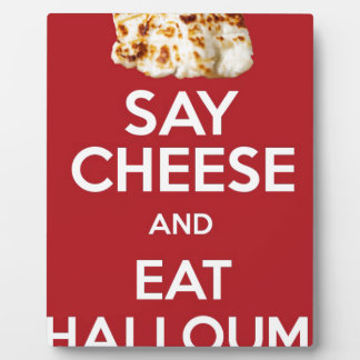 EAT HALLOUMI GREEK CHEESE PLAQUE