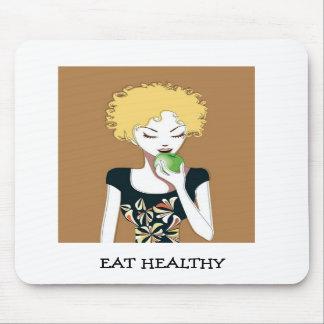EAT HEALTHY MOUSEPAD