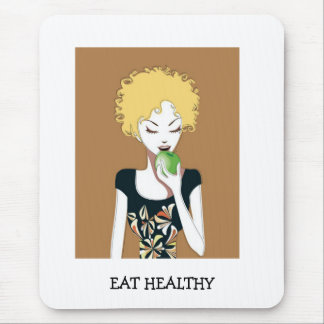 EAT HEALTHY MOUSE PAD
