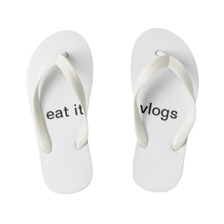 eat it yeah vlogs sandals