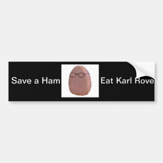 Eat Karl Rove Bumper Sticker