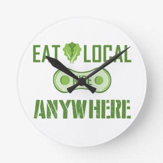 Eat Local, Ride Anywhere Round Clock