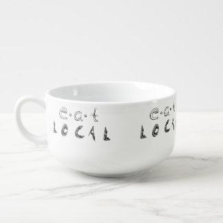 Eat Local Soup Mug