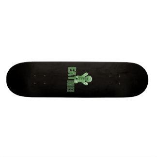 EAT ME! Gingerbread Man - Green Skate Board Decks