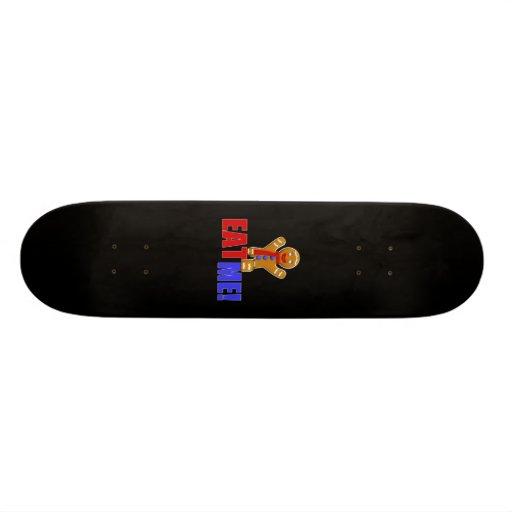 EAT ME! Gingerbread Man - Original Colors Skateboard Decks