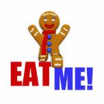 EAT ME! Gingerbread Man - Original Colours Photo Cut Outs