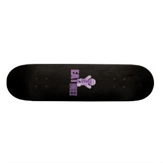 EAT ME! Gingerbread Man - Purple 20.6 Cm Skateboard Deck