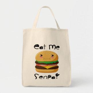 Eat me Senpai! Tote Bag