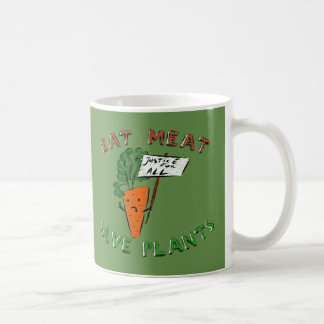 EAT MEAT MUG (Protesting carrot)