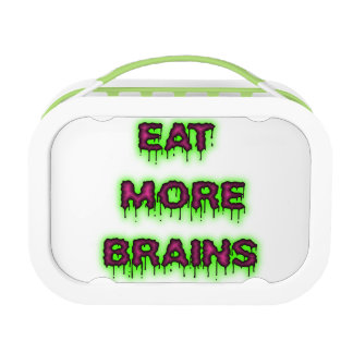Eat More Brains Lunchboxes
