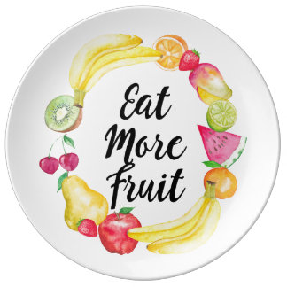 Eat more fruit plate