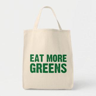 Eat More Greens Grocery Bag