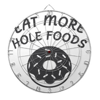 Eat More Hole Foods Dartboard