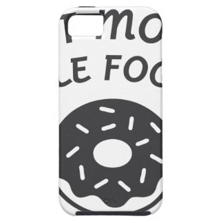 Eat More Hole Foods Tough iPhone 5 Case