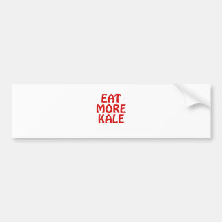 Eat More Kale Bumper Sticker