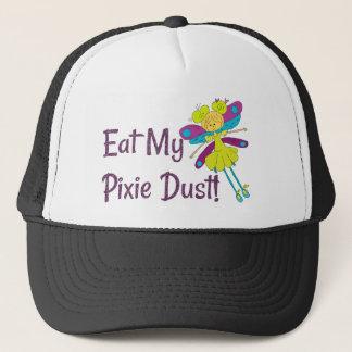 Eat My Pixie Dust Fairy Funny Trucker Hat