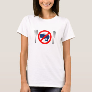 """EAT NO WHALE"" T-Shirt"
