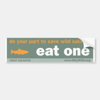 Eat One Bumper Sticker