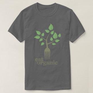 Eat Organic Food Slogan Natural Health T-Shirt