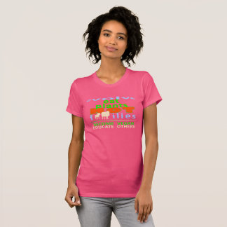 EAT PLANTS, NOT FAMILIES. GO VEGAN. T-Shirt