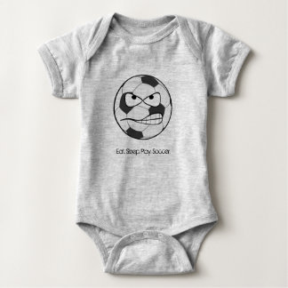 Eat.Play.Sleep.Soccer Baby Body Jumpsuit