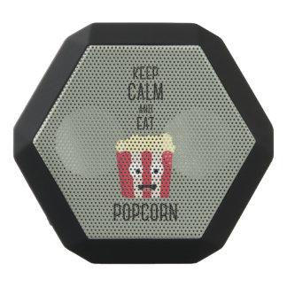 Eat Popcorn Z6pky Black Bluetooth Speaker