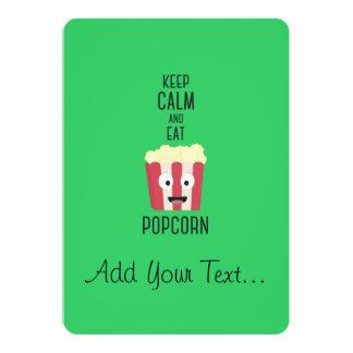 Eat Popcorn Z6pky Card