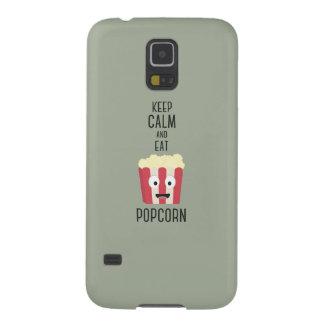 Eat Popcorn Z6pky Galaxy S5 Case