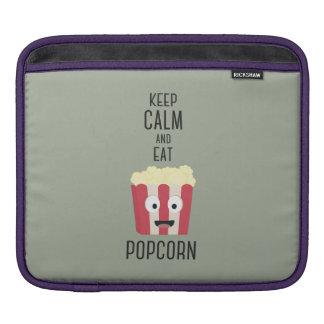 Eat Popcorn Z6pky iPad Sleeve
