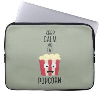 Eat Popcorn Z6pky Laptop Sleeve