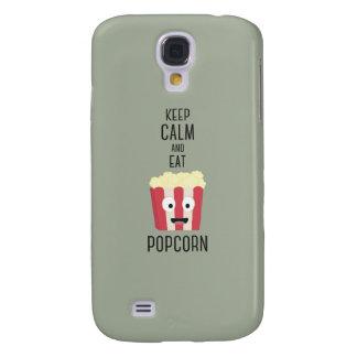 Eat Popcorn Z6pky Samsung Galaxy S4 Cover