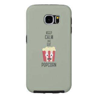 Eat Popcorn Z6pky Samsung Galaxy S6 Cases