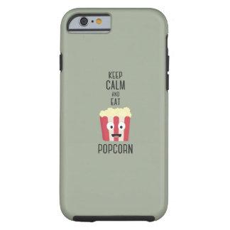 Eat Popcorn Z6pky Tough iPhone 6 Case