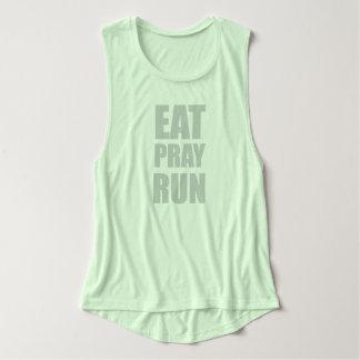 Eat Pray Run Singlet