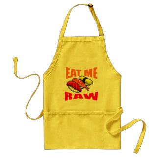 EAT RAW STANDARD APRON