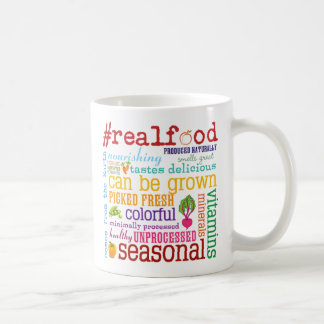 Eat Real Food Coffee Mug