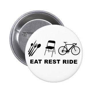 Eat Rest Ride Pin