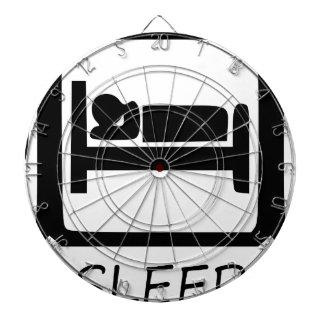 EAT SLEEP15 DARTBOARD