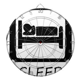 EAT SLEEP17 DARTBOARD