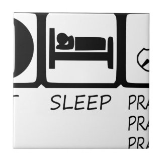 EAT SLEEP37 CERAMIC TILE